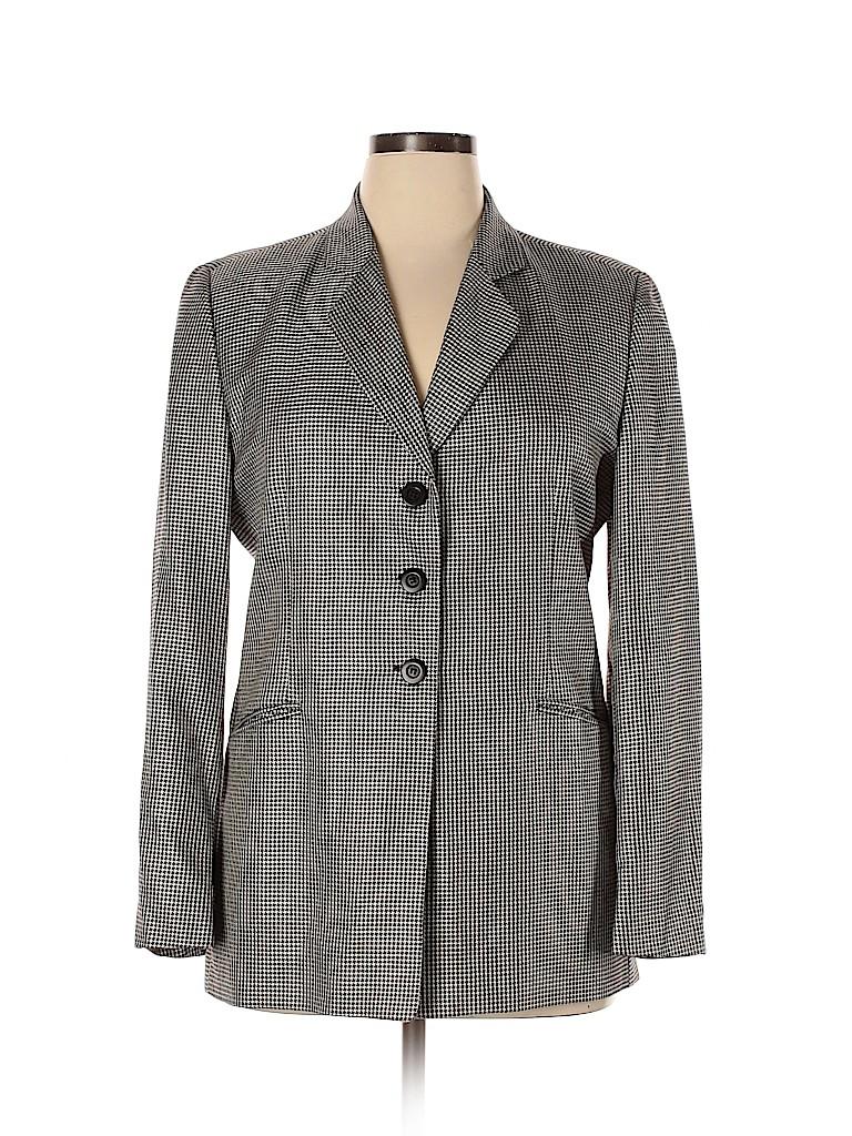 Zanella Women Wool Blazer Size 14