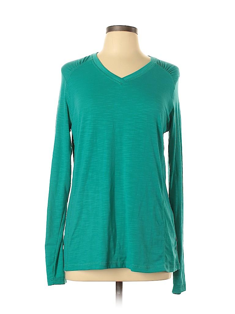 Bcg Women Long Sleeve T-Shirt Size XL