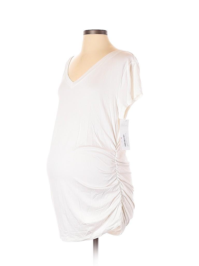 Liz Lange Maternity Women Short Sleeve Top Size XXL (Maternity)