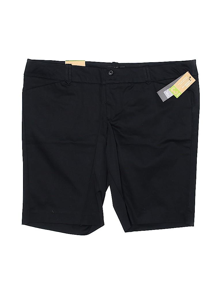 Mossimo Supply Co. Women Khaki Shorts Size 18 (Plus)
