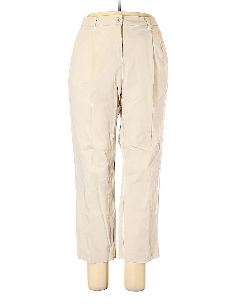 Liz Claiborne Women Khakis Size 18 (Plus)