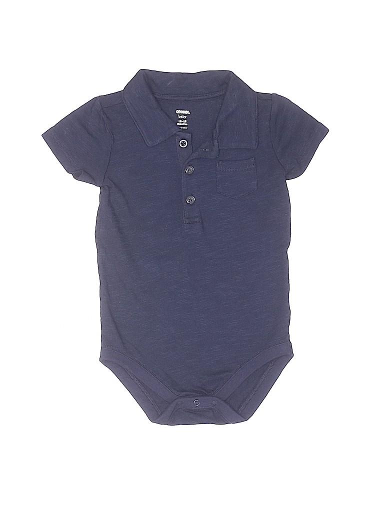 Gymboree Boys Short Sleeve Onesie Size 12-18 mo