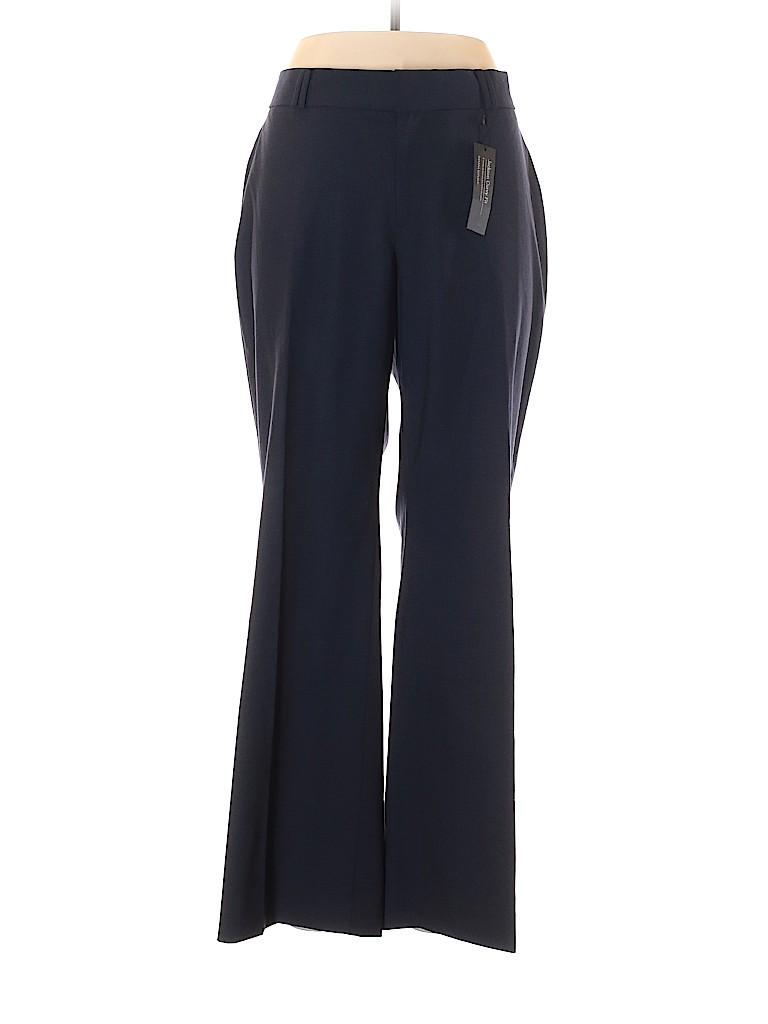 Banana Republic Women Wool Pants Size 12 (Petite)