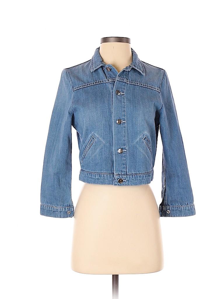 Snidel Women Denim Jacket Size 0