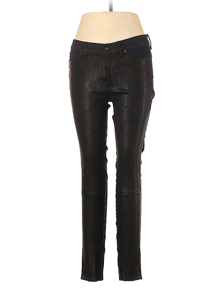 Rag & Bone/JEAN Women Leather Pants 31 Waist