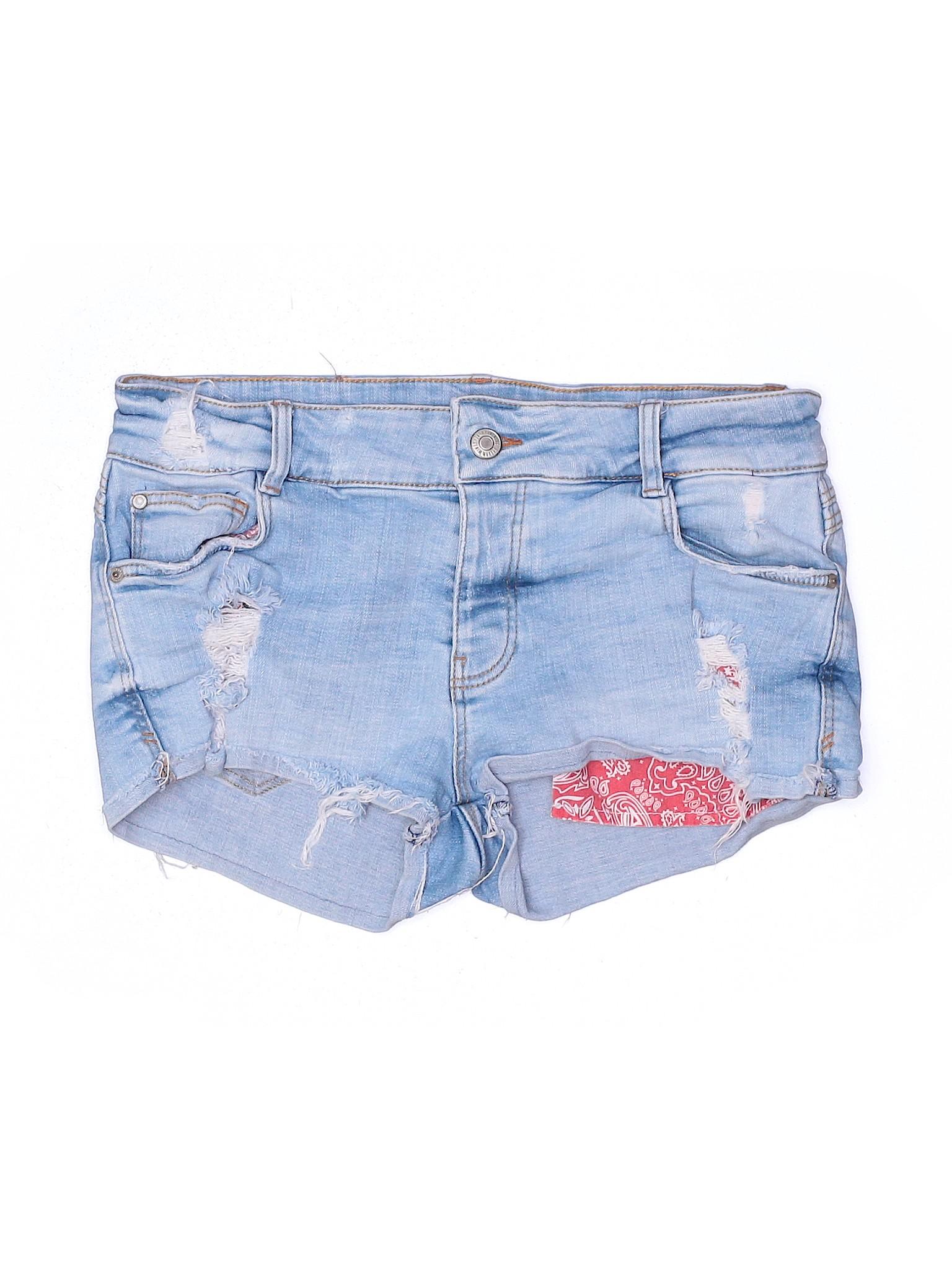 New Zara trafaluc premium quality denim shorts 8