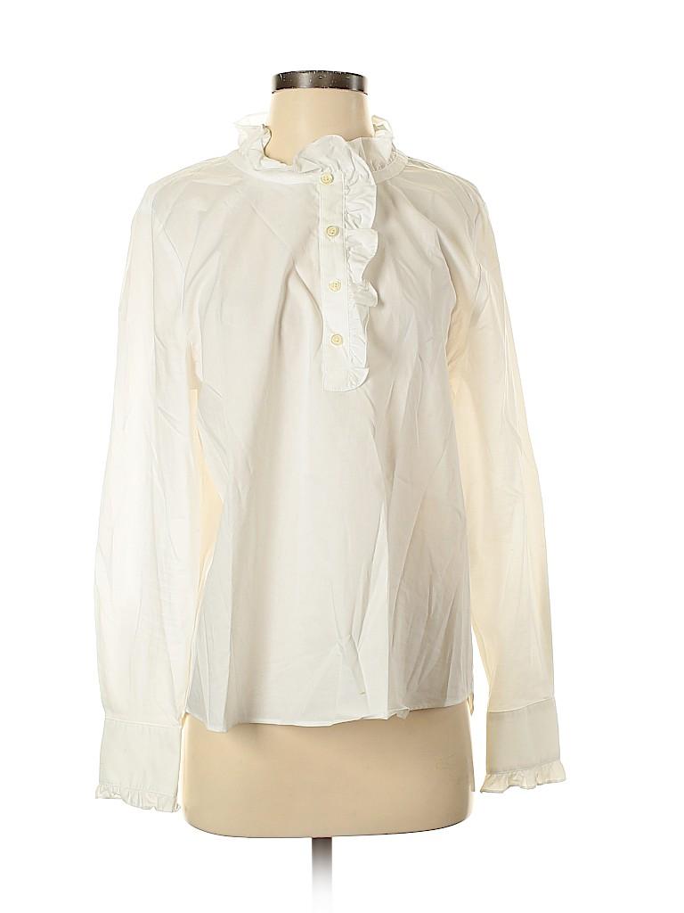Kate Spade New York Women Long Sleeve Blouse Size M