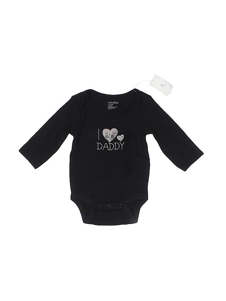 Baby Gap Boys Long Sleeve Onesie Size 0-3 mo