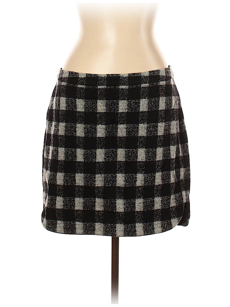 Madewell Women Wool Skirt Size 12