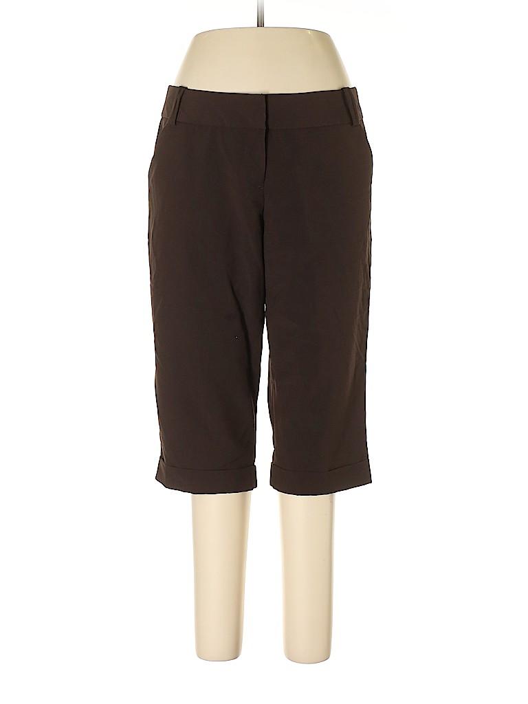 Worthington Women Casual Pants Size 14 (Petite)