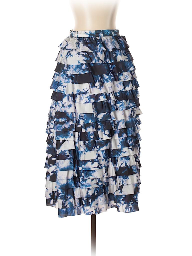 Cynthia Rowley Women Silk Skirt Size 2