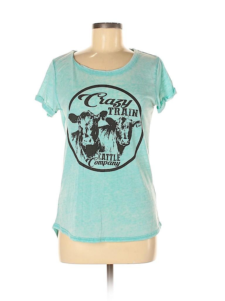Assorted Brands Women Short Sleeve T-Shirt Size M