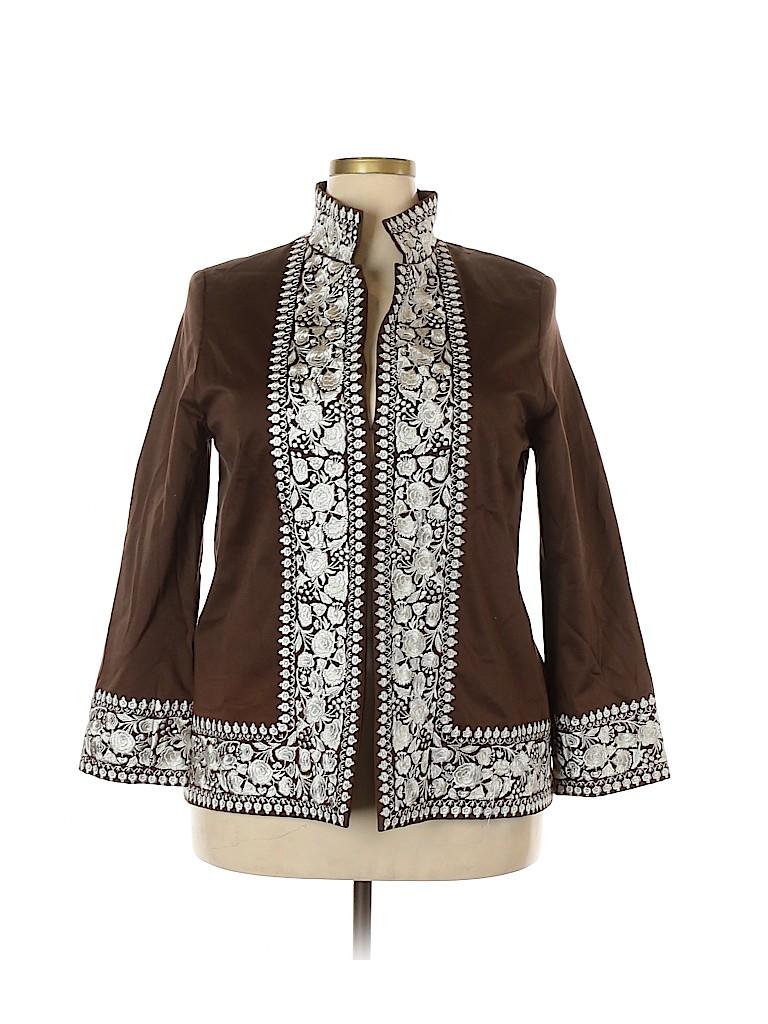 Linda Allard Ellen Tracy Women Jacket Size 16