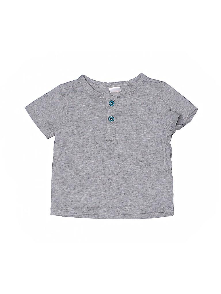 Gymboree Boys Short Sleeve Henley Size 6-12 mo
