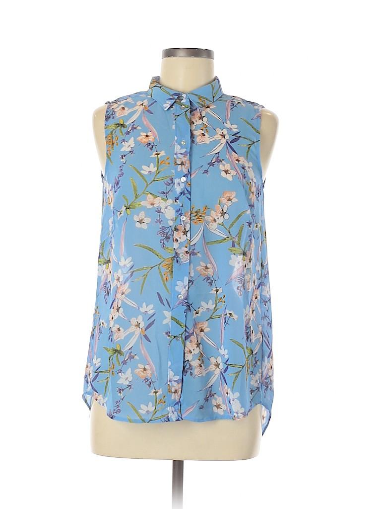 H&M Women Short Sleeve Blouse Size 6