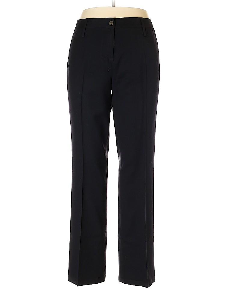 H Hilfiger Women Wool Pants Size 16