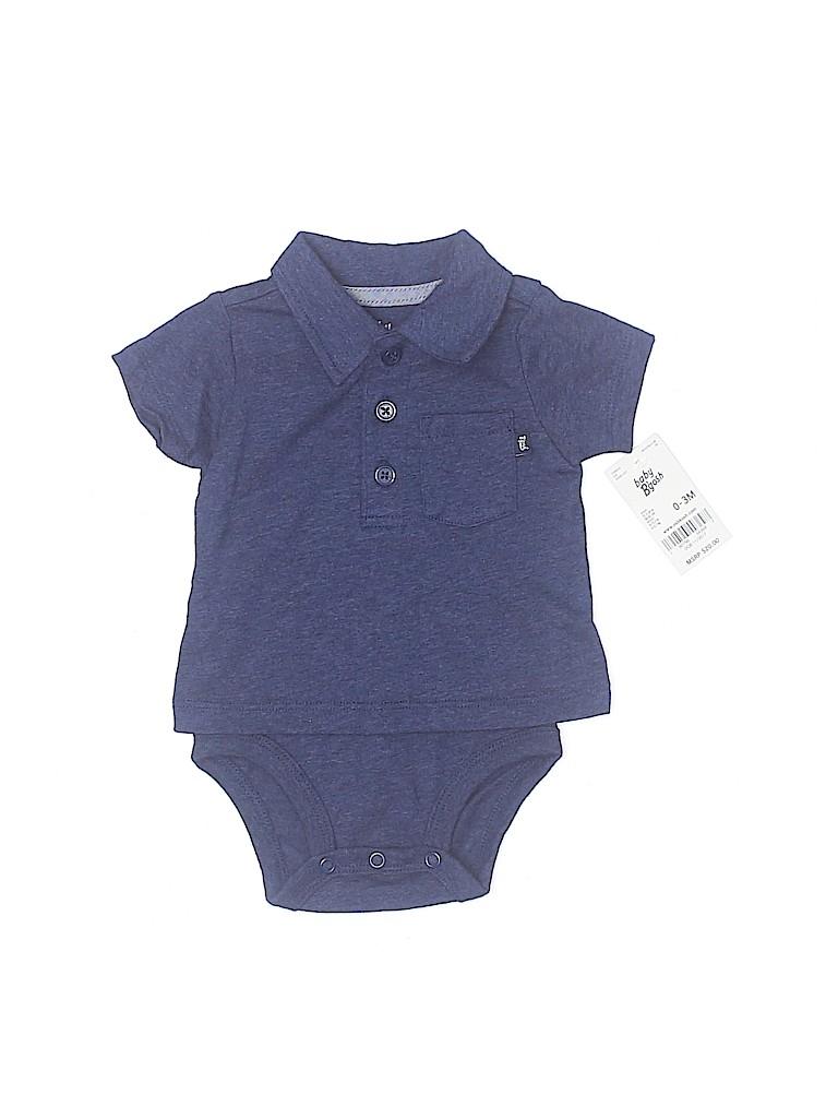Baby B'gosh Boys Short Sleeve Onesie Size 0-3 mo