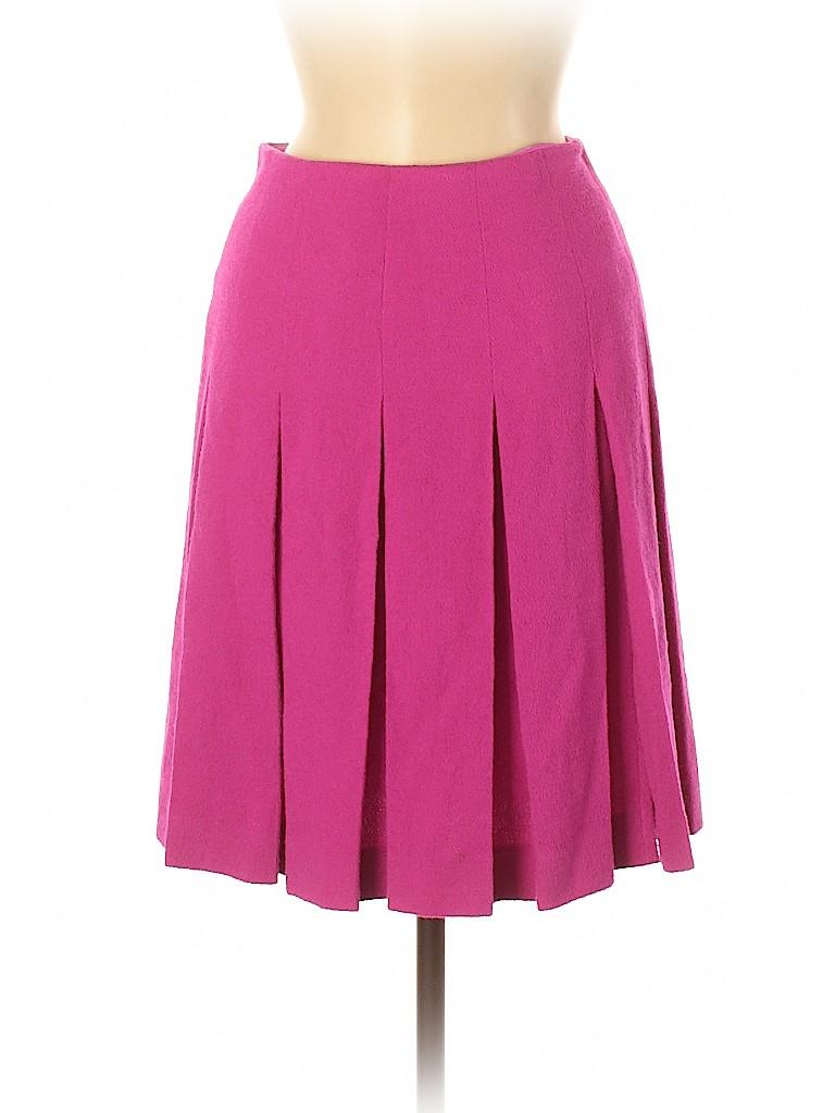RENA LANGE Women Wool Skirt Size 6
