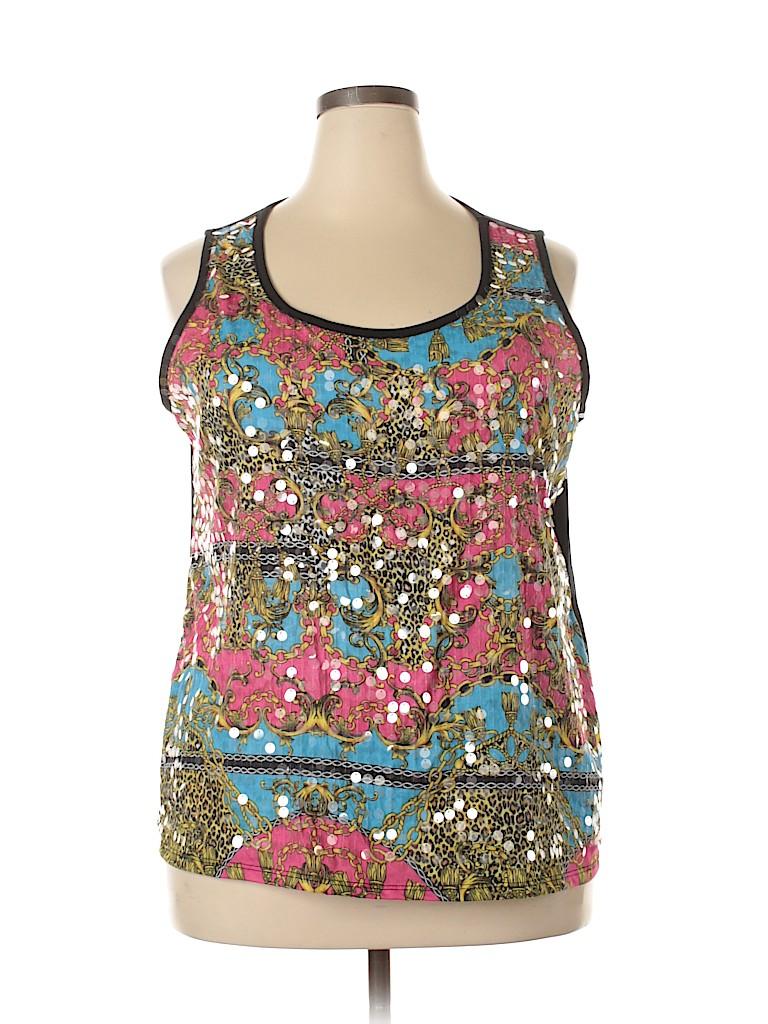 Cato Women Sleeveless Blouse Size 22 - 24 (Plus)