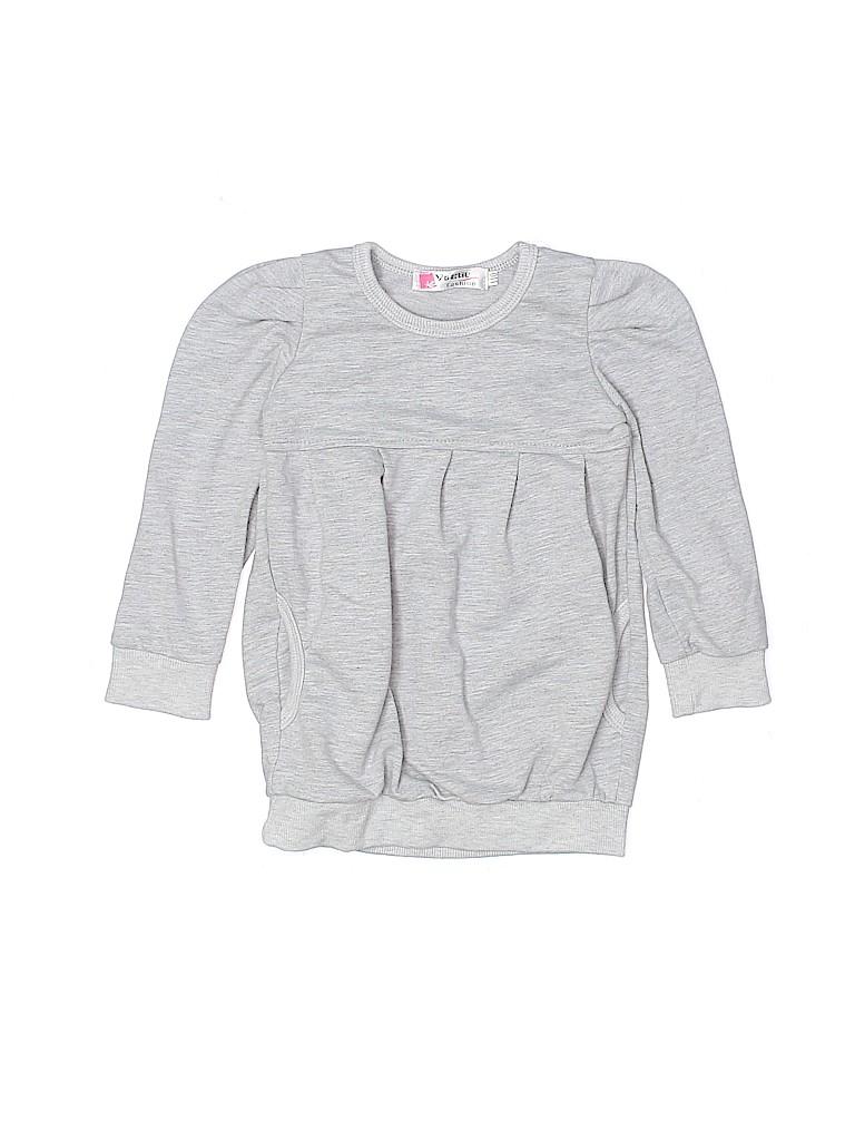 Assorted Brands Girls Sweatshirt Size 110 (CM)