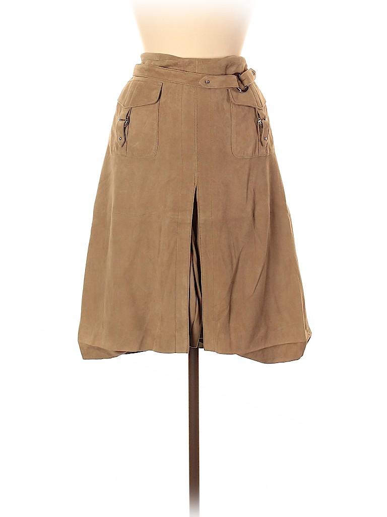 Etcetera Women Wool Skirt Size 12