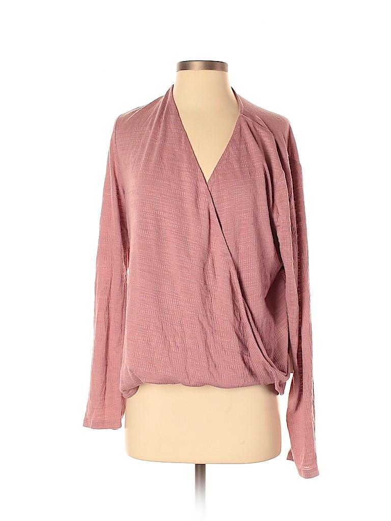 June & Hudson Women Long Sleeve Top Size 1