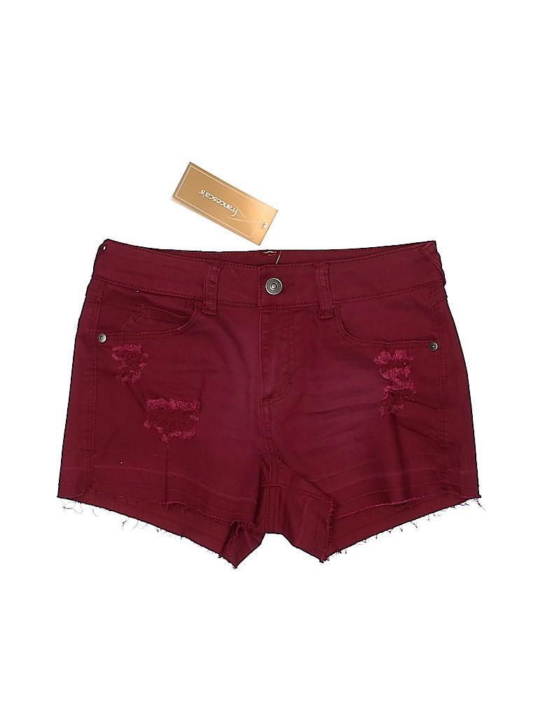 Francesca's Women Denim Shorts 27 Waist