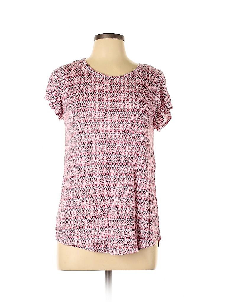 Lila Rose Women Short Sleeve T-Shirt Size L