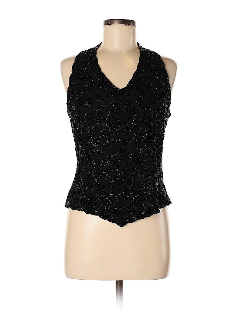 Jkara Women Sleeveless Blouse Size M