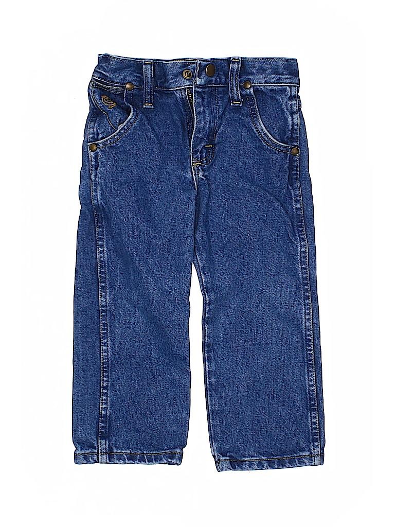 Wrangler Jeans Co Boys Jeans Size 3
