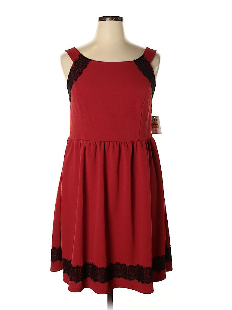 Trixxi Women Casual Dress Size 18 (Plus)