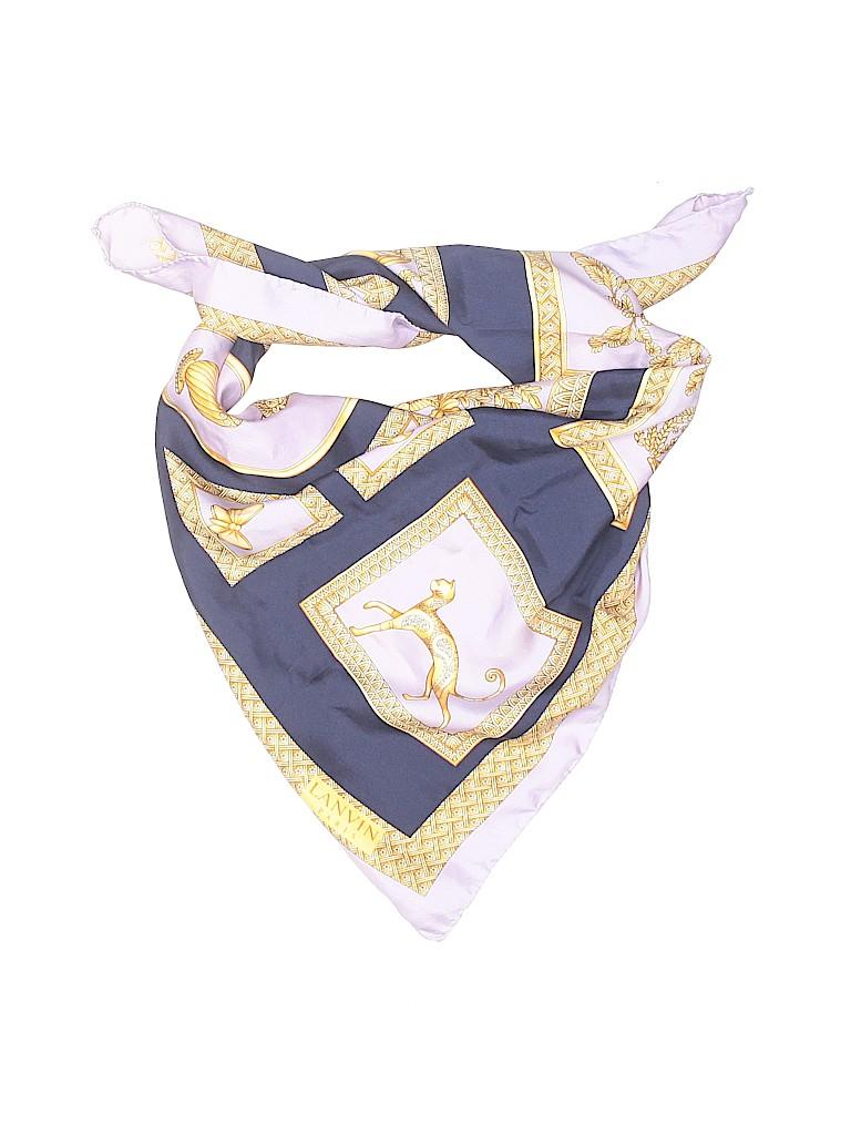 Lanvin Women Silk Scarf One Size