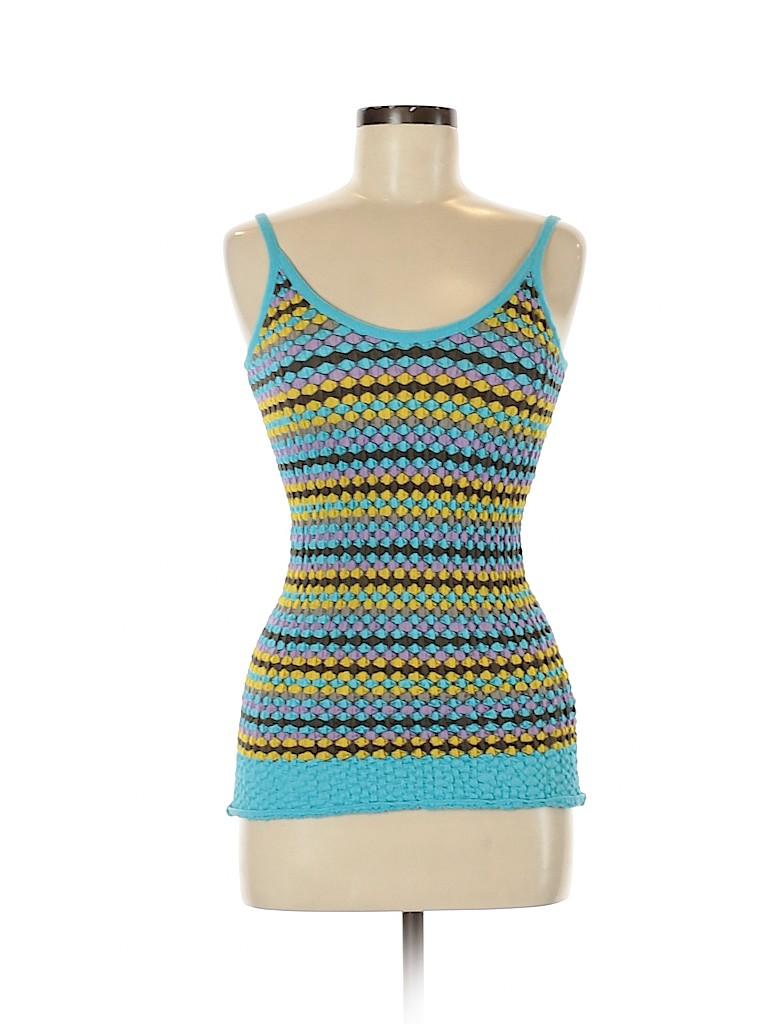 M Missoni Women Sleeveless Top Size 44 (IT)