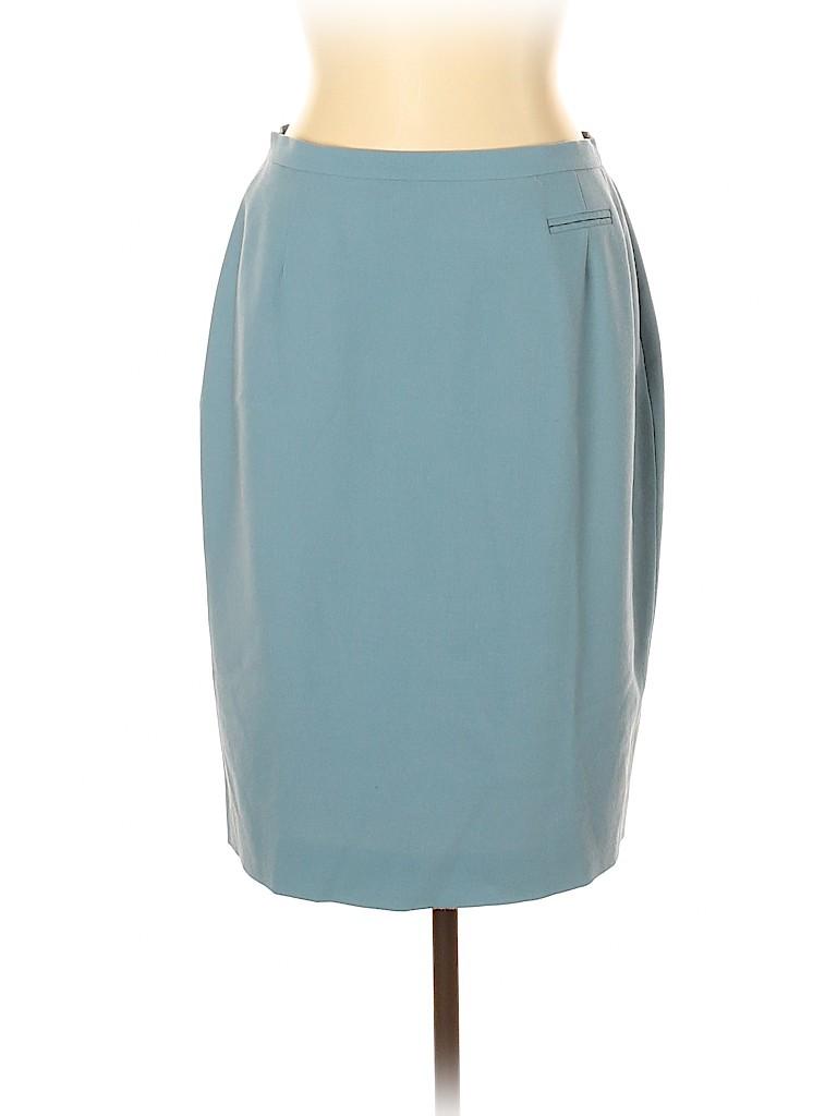 Burberry Women Wool Skirt Size 14