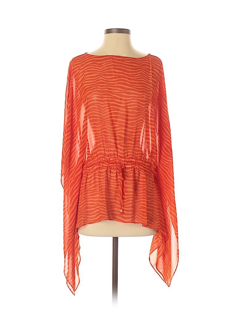 MICHAEL Michael Kors Women 3/4 Sleeve Blouse Size Sm - Med