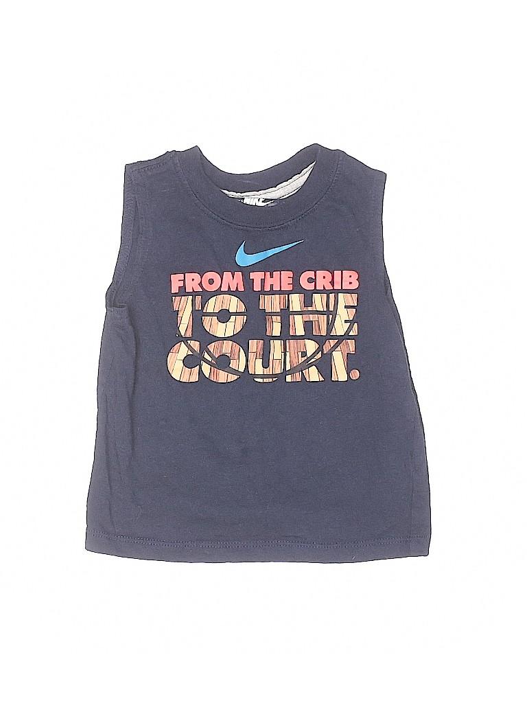 Nike Boys Sleeveless T-Shirt Size 12 mo