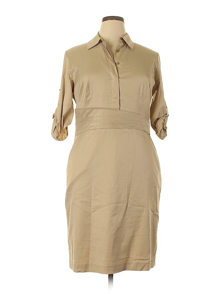 Ann Taylor Women Casual Dress Size 16