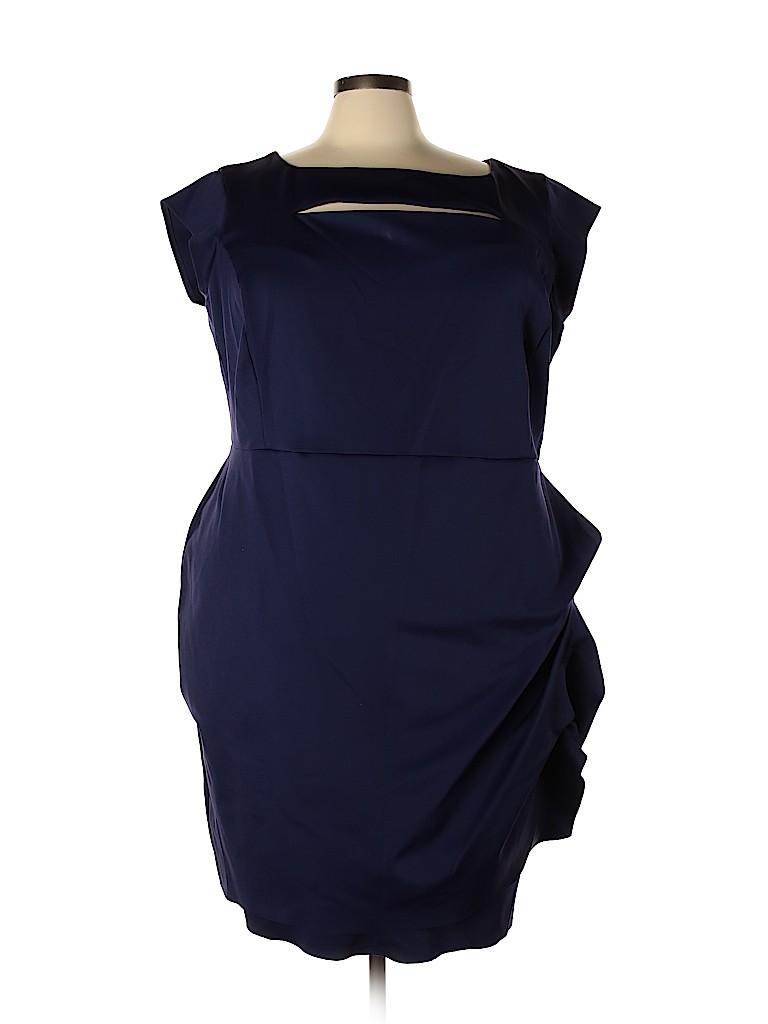 Lane Bryant Women Casual Dress Size 28 (Plus)