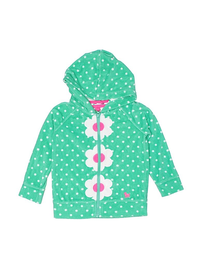 Mini Boden Girls Zip Up Hoodie Size 4 - 5
