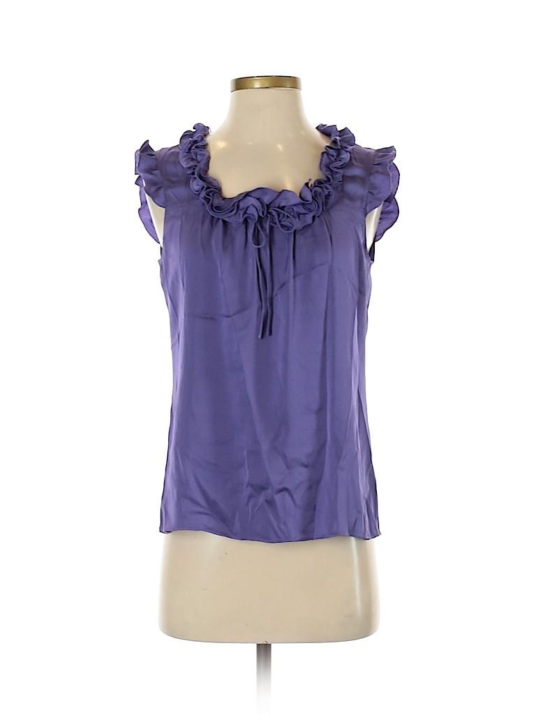 Elie Tahari Women Sleeveless Silk Top Size S