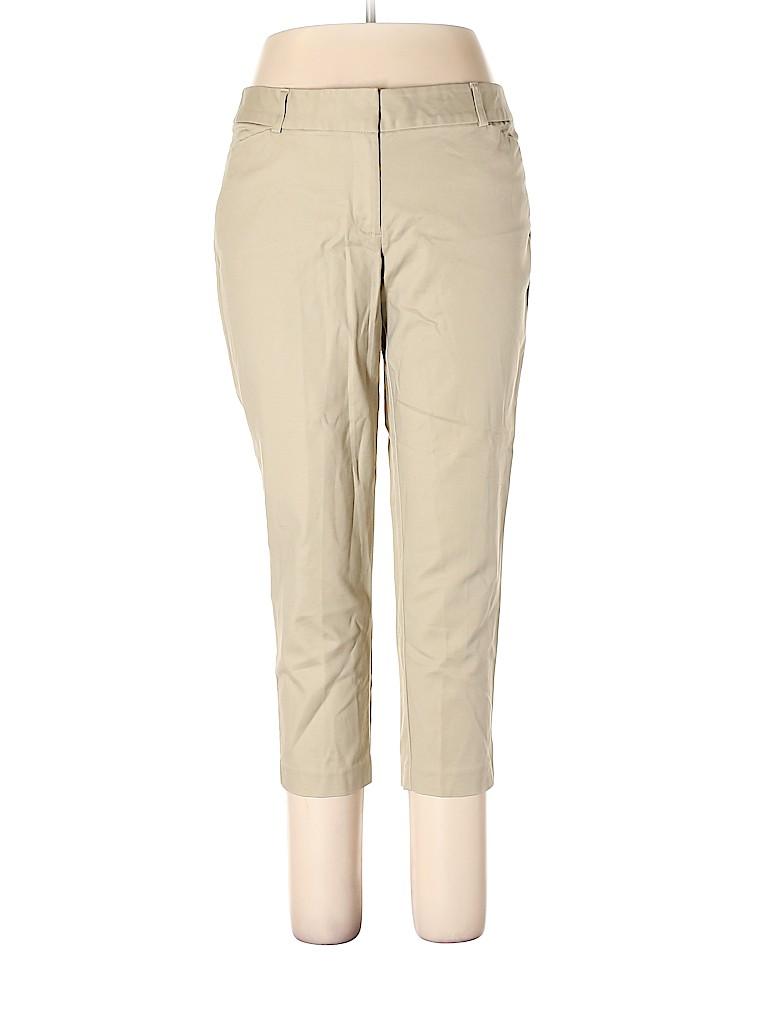 Liz Claiborne Women Khakis Size 14 (Petite)