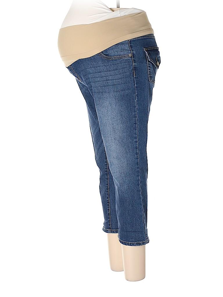 Oh Baby By Motherhood Women Jeans Size L (Maternity)