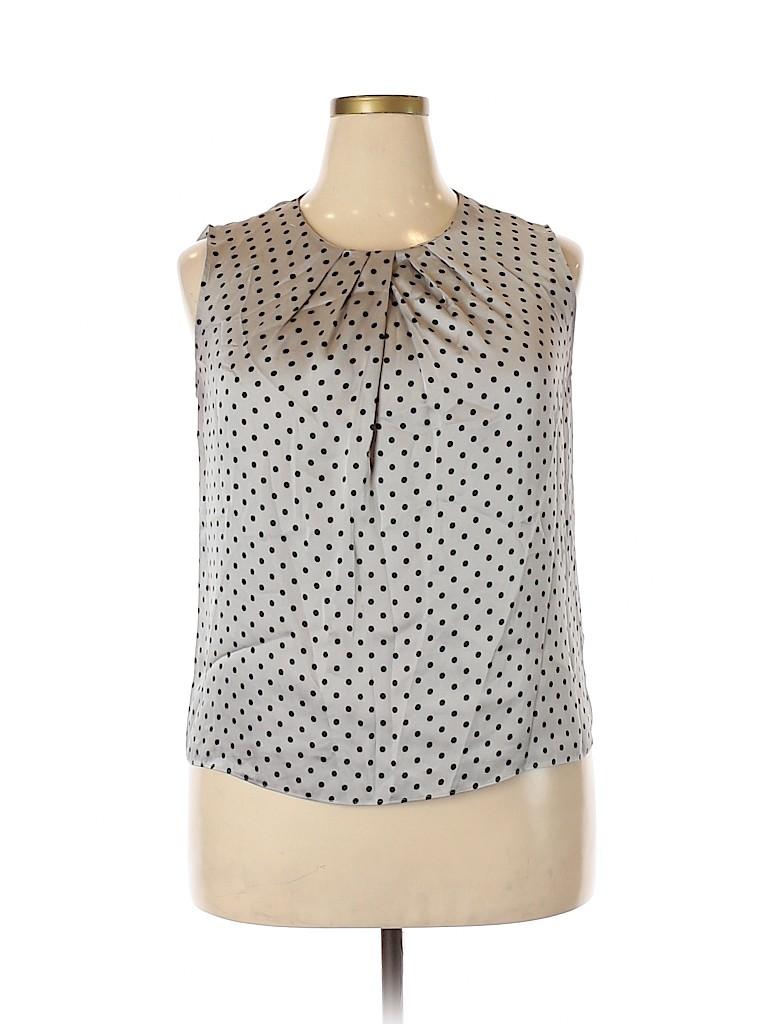 Jones New York Women Sleeveless Blouse Size 14