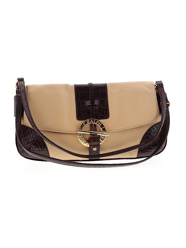 Lauren by Ralph Lauren Women Leather Shoulder Bag One Size