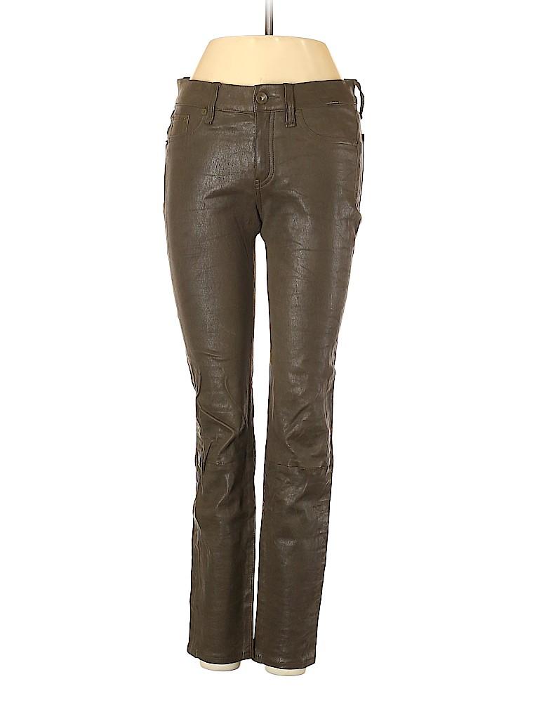 Rag & Bone/JEAN Women Leather Pants 26 Waist