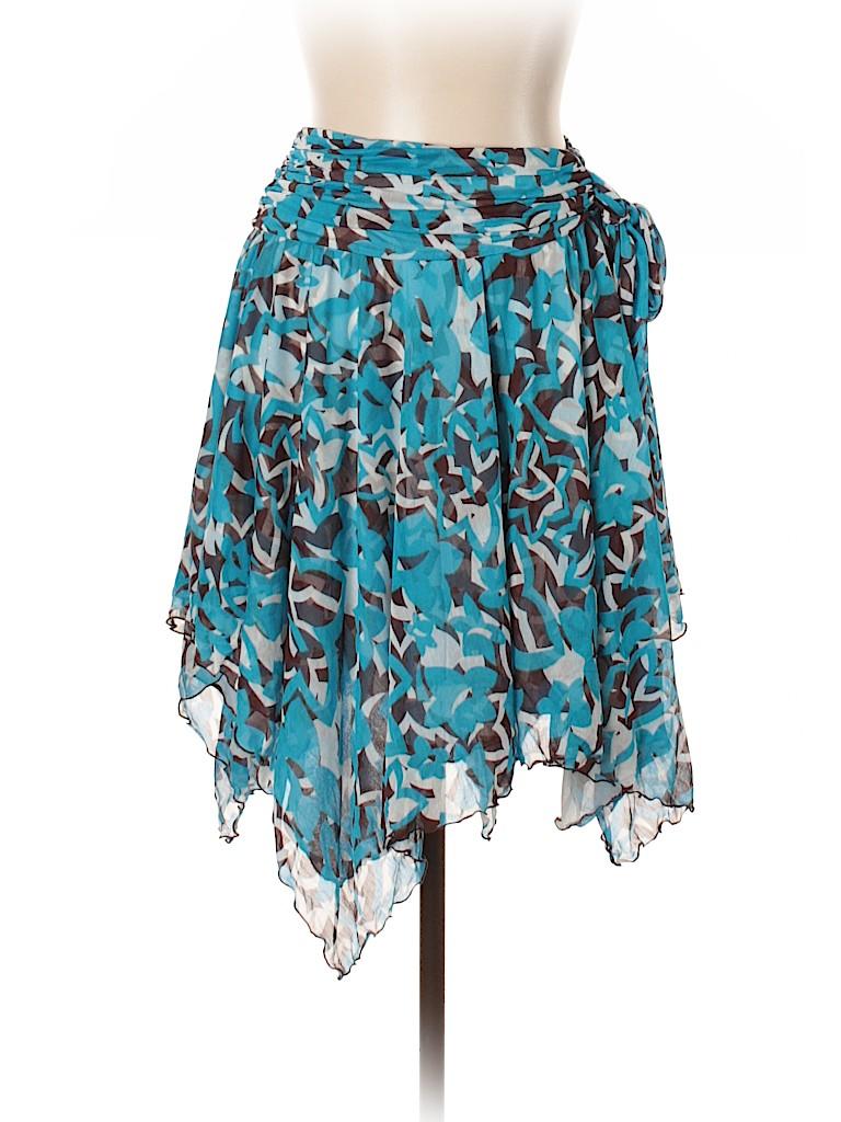 Diane von Furstenberg Women Silk Skirt Size 10
