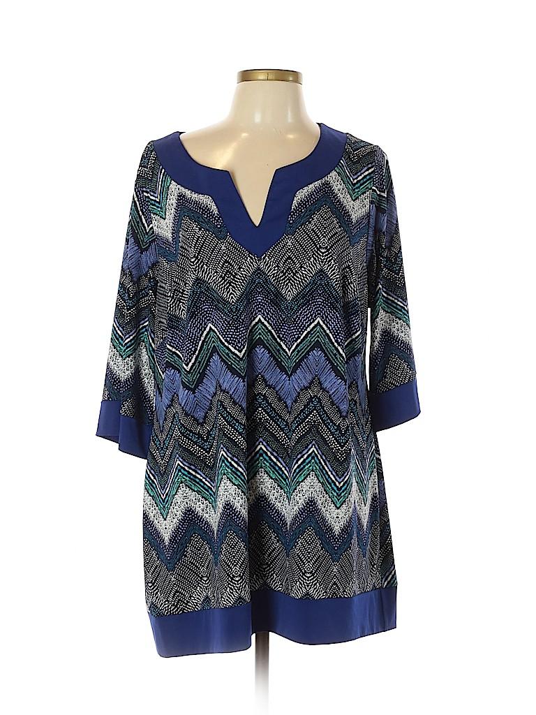 IGIGI Women 3/4 Sleeve Top Size 14 - 16 Plus (Plus)