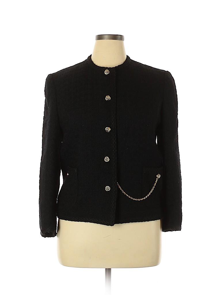 Assorted Brands Women Wool Blazer Size 46 (EU)