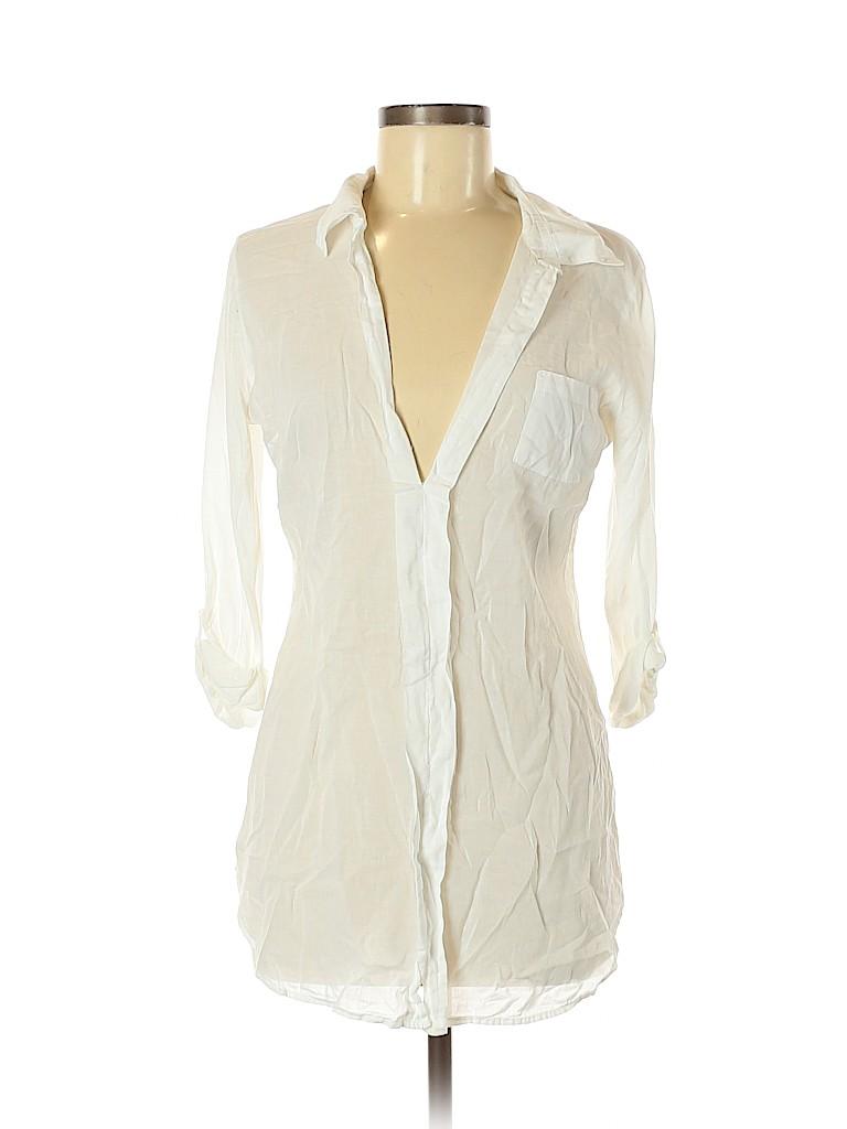 Splendid Women 3/4 Sleeve Blouse Size M
