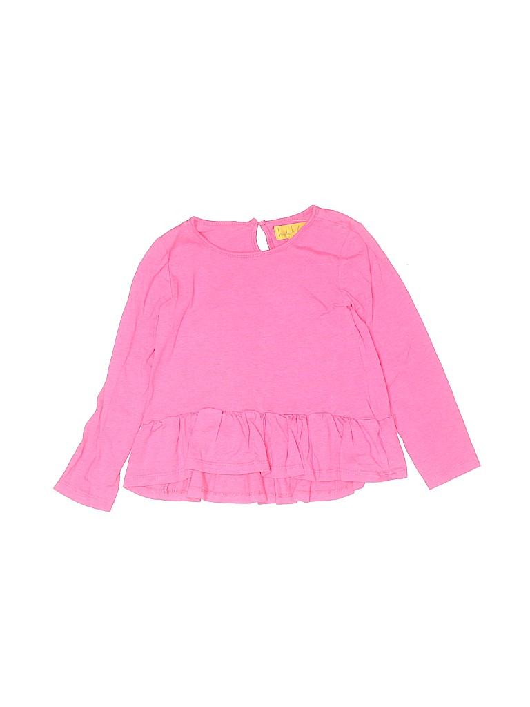 Nicole Miller Girls Long Sleeve Blouse Size 4T